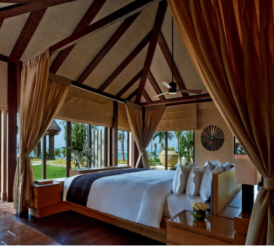 hotéis luxuosos aberbeach moda praia masculina The Ritz-Carlton em Bali, Ilha da Indonésia