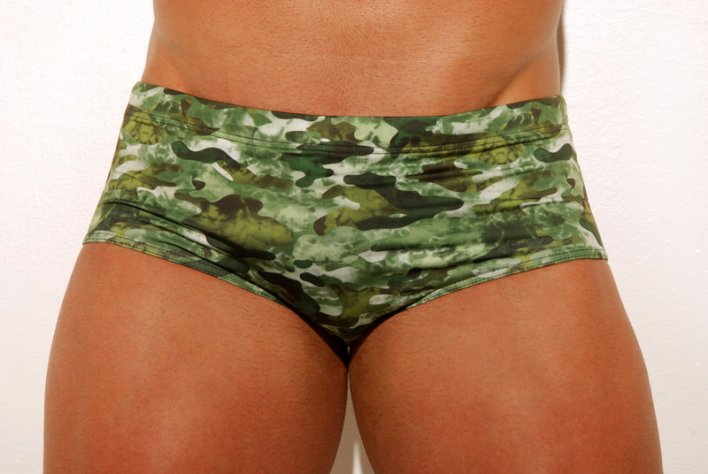 sunga masculina army aberbeach moda praia masculina