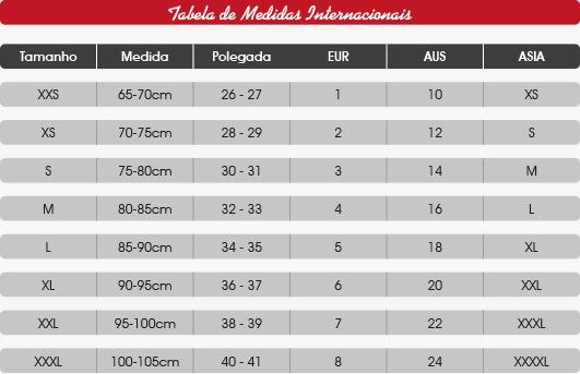 tabela de medidas de sunga de praia aberbeach moda praia masculina