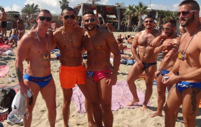 sunga de praia cavada circuit festival barcelona