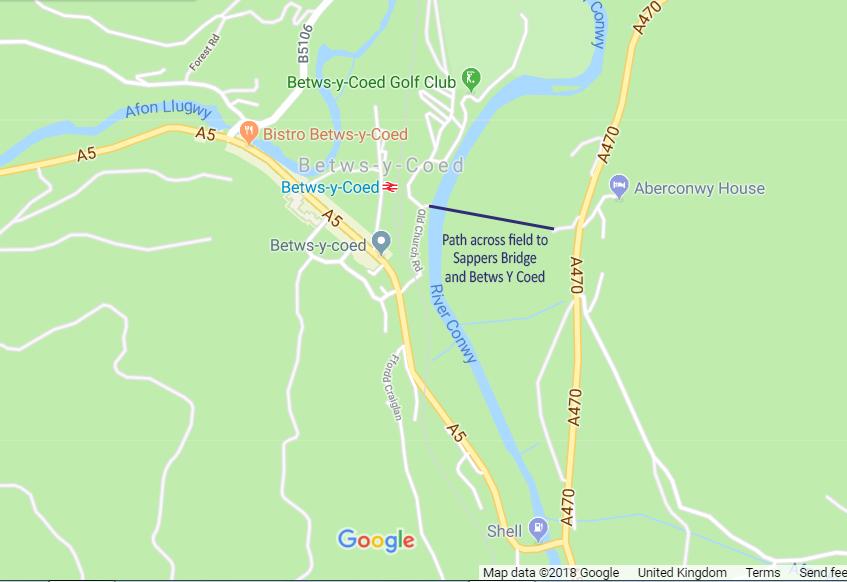 map betws