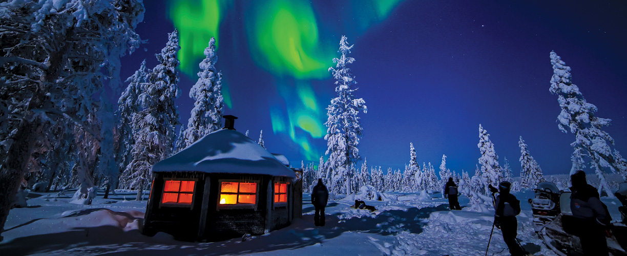 Trips Finland Northern Lights
