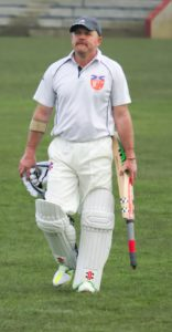 Alex Keith made a fine unbeaten half century to secure a 9 wicket win