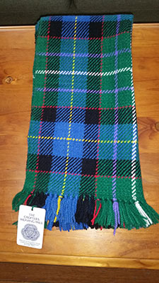 Cutting of the Tartan from the Loom