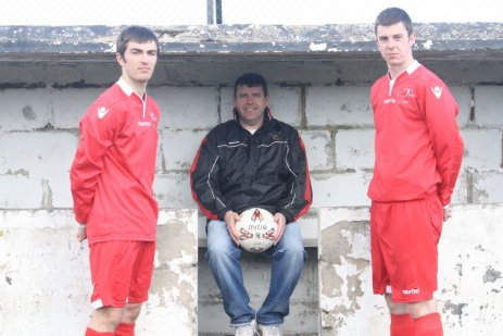 Cove strikers Mitchell Chalmers and Craig Wilson