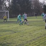 The Hazlehead defence were extremely organised during an impressive display of defending