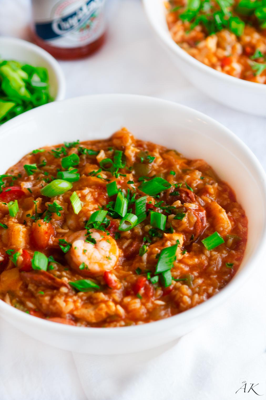 Easy Creole Jambalaya - Aberdeen's Kitchen