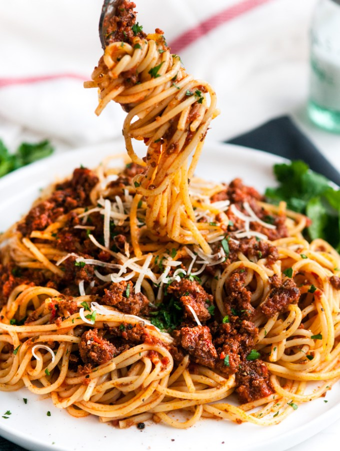 Simple Spaghetti Beef Sauce