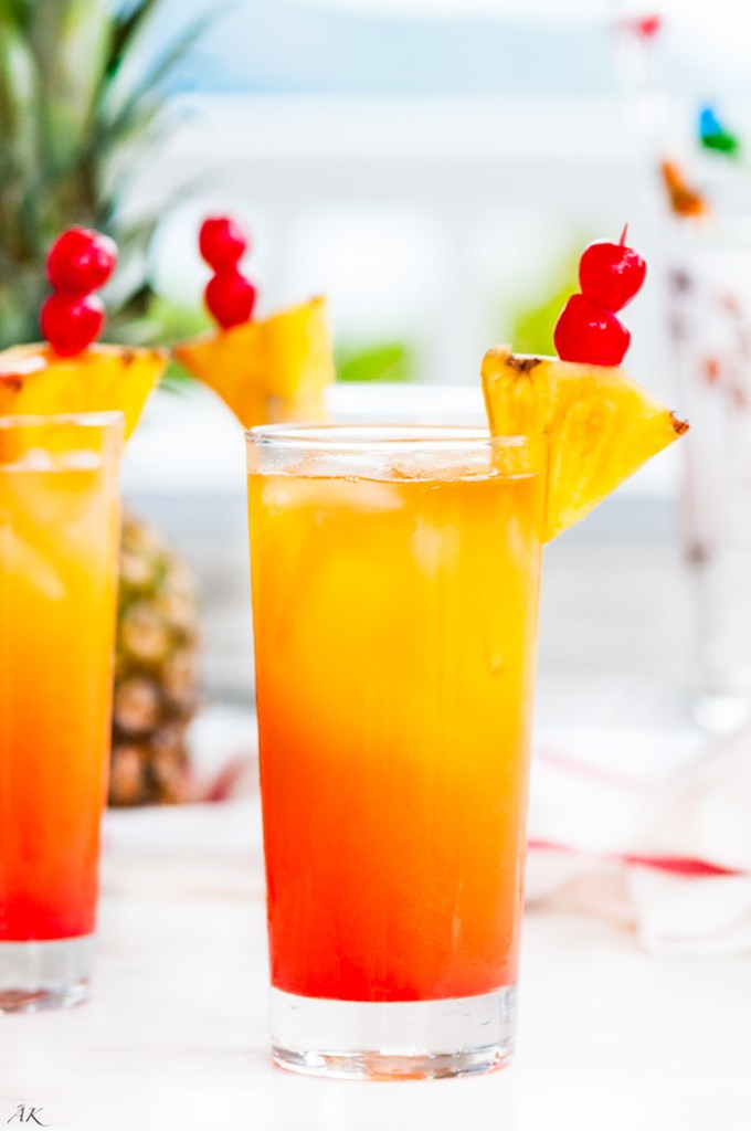 Tropical Mai Tai Cocktail - Aberdeen's Kitchen
