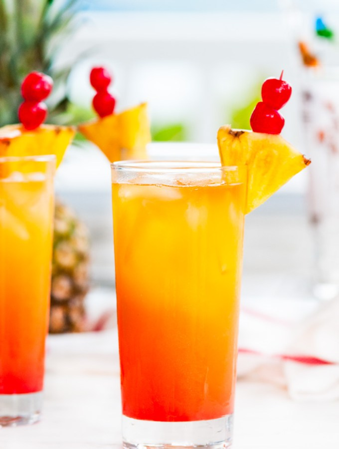 Tropical Mai Tai Cocktail