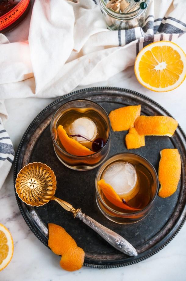 Classsic Old Fashioned Cocktail | aberdeenskitchen.com