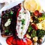 Surf And Turf Steak And Lobster Tail For Two Aberdeen S Kitchen