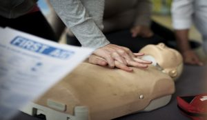 First Aid train the trainer course