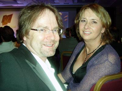 Gareth Morlais and Karen Lewis