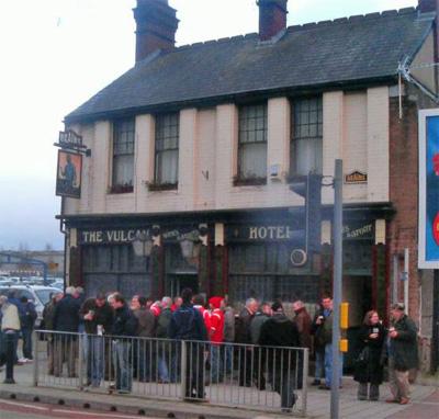 Vulcan Hotel Pub Cardiff