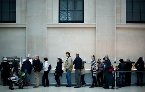 queue photo