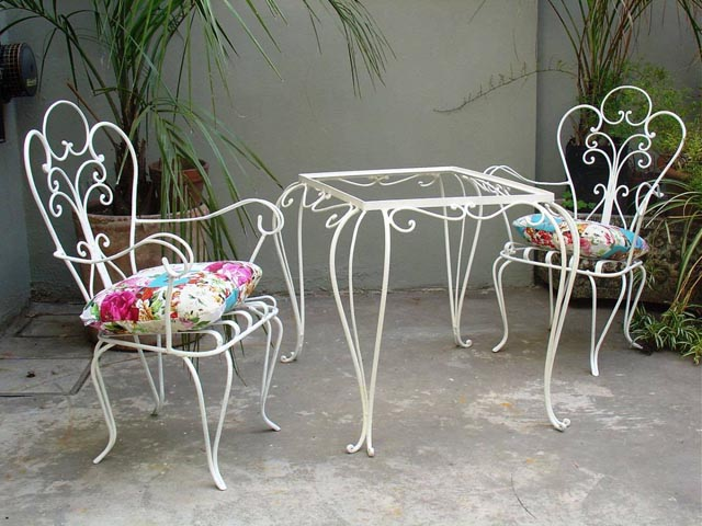 Muebles de hierro y herrera artstica  Aberturas San Juan