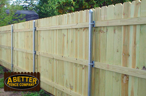 low cost wood fences