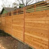 Horizontal Wood Fences | A Better Fence Company ...