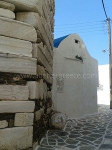 sightseeing on Paros