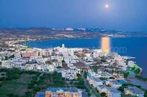 Adamas village, Milos island, Greece