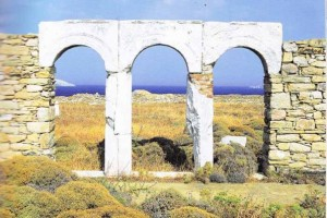 Delos island - Cyclades Greece