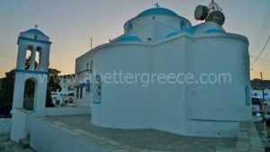 Kimolos churches Cyclades Greece