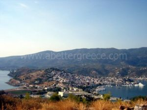 Poros island view, Greece