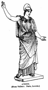 Athena in Greek mythology