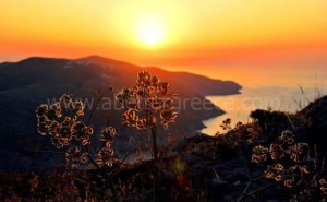 Folegandros island view Greece