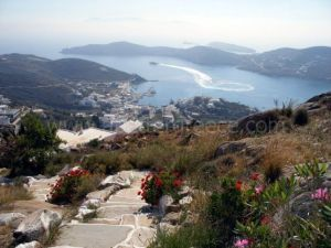 Ios view Cyclades Greece