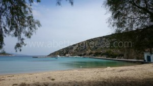Iraklia beach Cyclades Greece