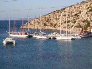 Iraklia seaside Cyclades Greece