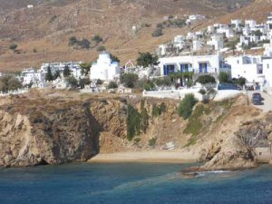 Livadi on Serifos, Cyclades, Greece