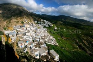 Serifos villages, Cyclades, Greece