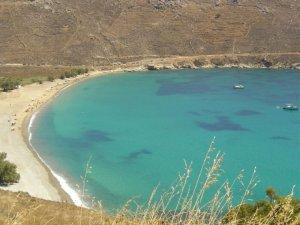 οι παραλίες στη Σέριφο στις Κυκλάδες