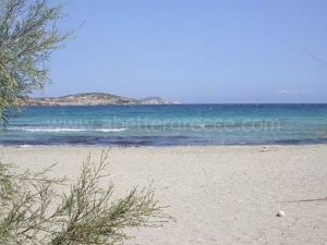 beaches on Schinnousa, Cyclades Greece