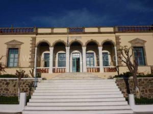 το αρχαιολογικο μουσείο στη Μήλο στις Κυκλάδες