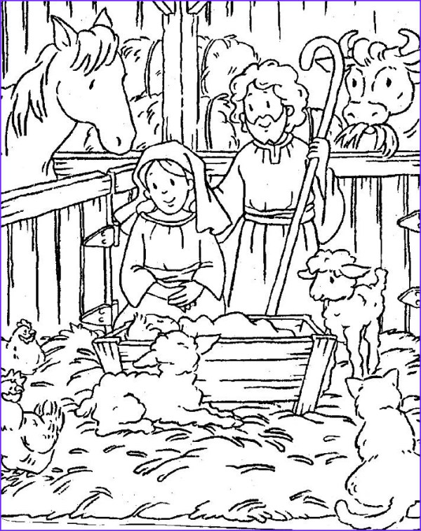 baby jesus coloring page # 52