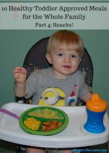 Healthy, toddler approved snacks for the whole family!