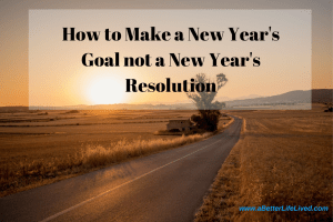 New Year;s Resolutons are difficult. That's why we make a New Year's Goal. every year. Since we started this tradition, we've accomplished more every year than ever before!