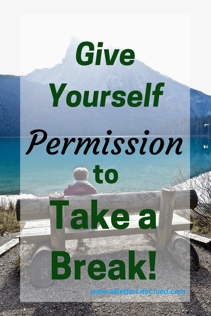 A great reminder! We're creatures of constant progress and constant productivity. Sometimes, to get our best work in, we need to give ourselves permission to take a break.
