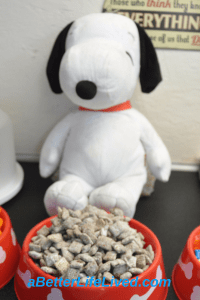 Snoopy Birthday Party Decoration
