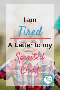 A letter to my strong-willed, spirited child on his third birthday. And a message of hope for other parents of spirited children.