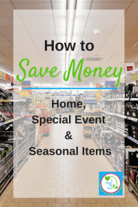 I used to spend so much on these things. GREAT ideas for how to save money on home items, seasonal and holiday things, and stuff for special events like parties!