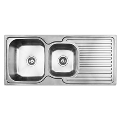 3 Basin Kitchen Sink Small Tv For Sinks Entry 1 4 Bowl Abey