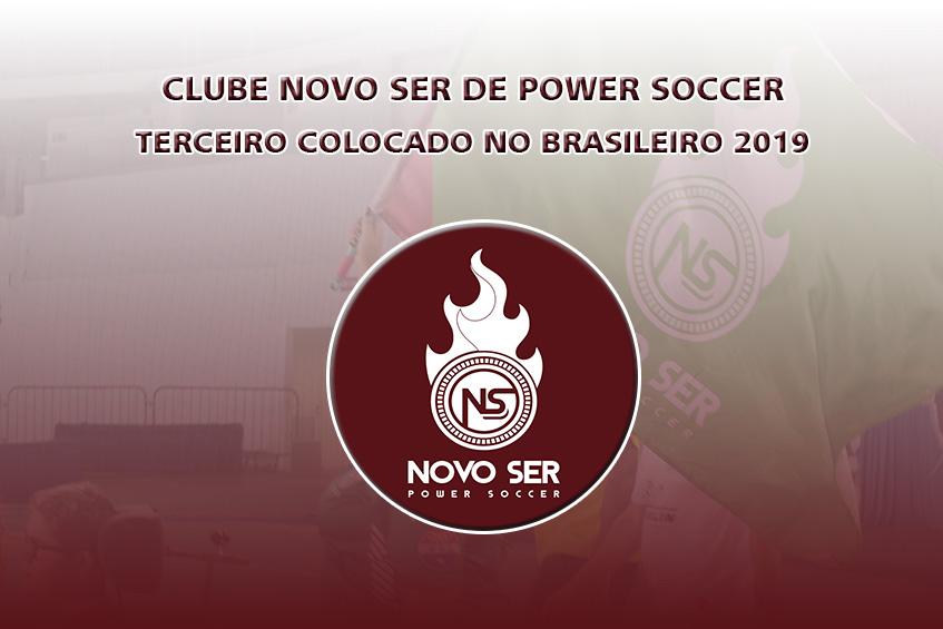 NOVO SER FICA EM TERCEIRO NO BRASILEIRO 2019