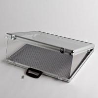 Small Aluminum Display Case   A&B Store Fixtures