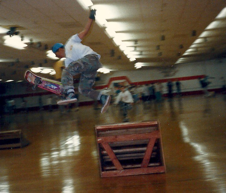 Here's Corey Pierce launchin' at Kendall in the late 80s!