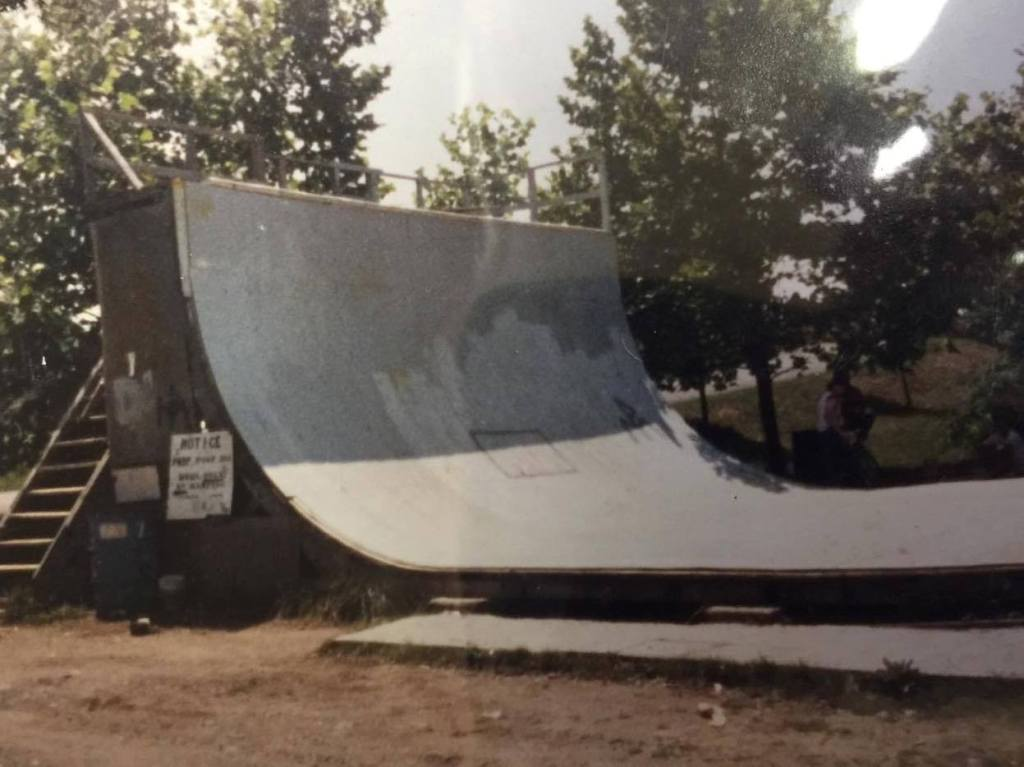 The 13' ramp with 3' of vert that Dan cut his teeth on